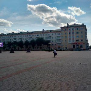 Реклама на видеоЭкране в Орше.